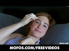 Perky redhead fledgling Jodi Taylor is persuaded to try ass-fuck