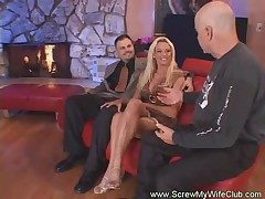Hotwife Screwed Amenable Together with Hard